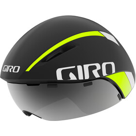 Giro Aerohead MIPS Kask rowerowy, matte black fade/highlight yellow